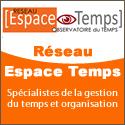 Observatoire du temps, Réseau Espace temps