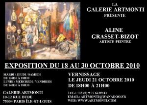 affiche ALGB expo artmonti