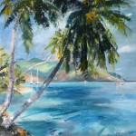 Baie d'Opunohu. Moorea Polynésie F.
