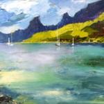 Baie de Cook Moorea Polynésie Française