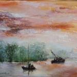 Loire aux reflets d'or