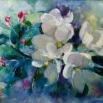 Fleurs de Printemps. Sérénité