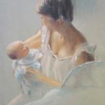 maternité. Le regard